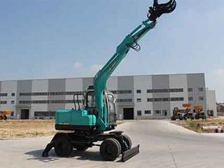 晋工JGM9085L蔗木拾装装载机