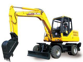 愚公机械 WYL75×4-8 挖掘机