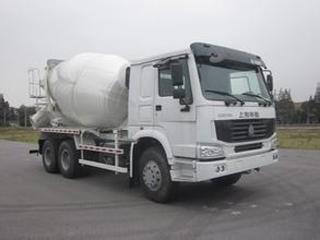上海华建 HDJ5257GJBHO 搅拌运输车