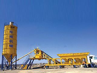 东南机械 YHZS35 混凝土搅拌站