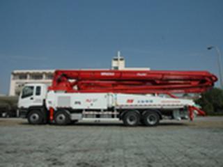 上海华建 SPL170-5RZ53 泵车