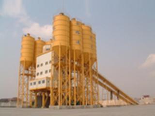 上海华建 HLS240 混凝土搅拌站