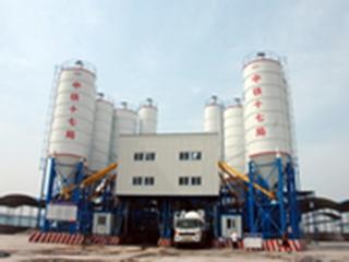 上海华建 HZS120 混凝土搅拌站