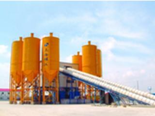 上海华建 HZS180 混凝土搅拌站