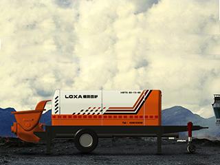 福田雷萨 HBT080SC18181 拖泵图片