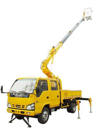 石煤机 SMJ5053JGKX15 高空作业机械