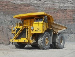 首钢重汽 SGE150 非公路自卸车