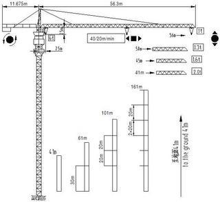 鸿达建工 QTZ63B 起重机