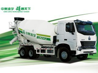 中集凌宇 CLY5257GJB6 搅拌运输车