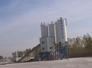 鸿达建工 HZS125 混凝土搅拌站
