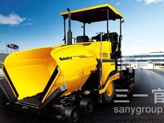 三一重工 SAP100T-5轮胎式摊铺机 沥青摊铺机