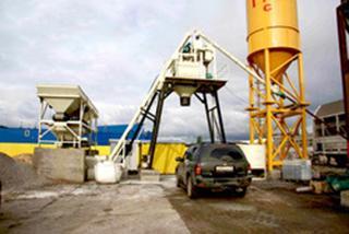 鸿达建工 HZS50 混凝土搅拌站