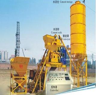 鸿达建工 HZS30 混凝土搅拌站