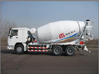 鸿达建工 HDT5256GJB 搅拌运输车