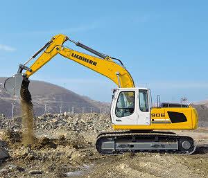 利勃海尔 R906Litronic 挖掘机