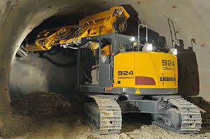 利勃海尔 R924CompactTunnel 挖掘机