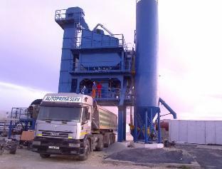 鸿达建工 LB1500 沥青搅拌站