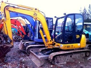 杰西博 JCB60-7 挖掘机图片