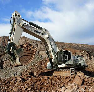 利勃海尔 R9100 挖掘机