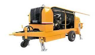 鸿达建工 HBT85-15-158S 拖泵