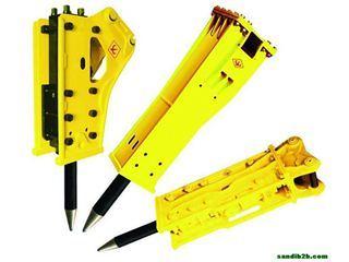 永工 半旋转式挖掘机配套 破碎锤