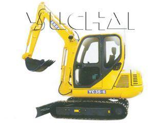 玉柴 YC35-6 挖掘机图片