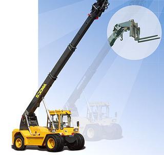 华南重工 HNT110-2C 伸缩臂叉车
