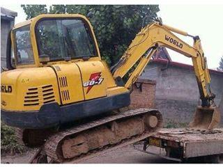 沃得重工330挖掘机