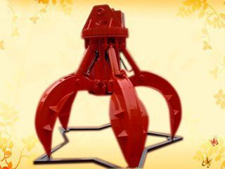 华夏山工 SGWS20-360度旋转6爪 抓钳器