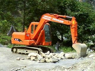 斗山DH100Gold挖掘机