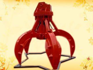 华夏山工 SGWS03-360度旋转4爪 抓钳器