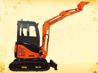华夏山工 SG35U小型 挖掘机