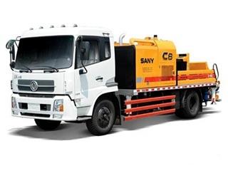 三一重工 SY5128THB-9018C-6DE 车载泵图片