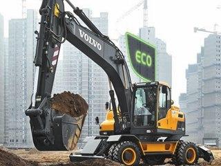 沃尔沃EW205D挖掘机