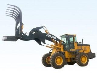 泰安现代重工 XD935G棉品高卸抓草 装载机