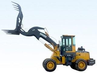 泰安现代重工 XD926G棉品高卸抓草 装载机