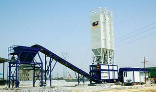 华通动力 WBS600E 稳定土拌合站