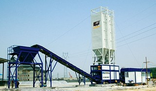 华通动力 WBS400E 稳定土拌合站