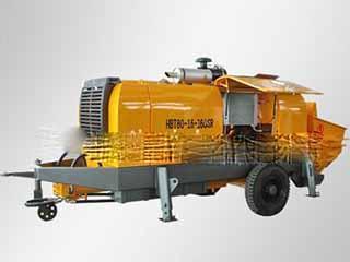 海州 HBT80-16-160SR 拖泵