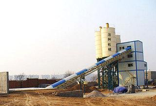 海州 HZS150 混凝土搅拌站图片