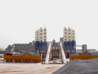 海州 HZS120 混凝土搅拌站