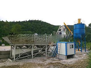 海州 YHZS25 混凝土搅拌站