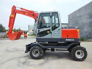 华夏山工 SG65W-8 挖掘机