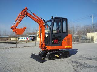 华夏山工 SG18-9 挖掘机