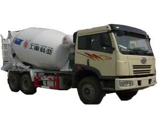 亚特重工 TZ5252GJBCA9 搅拌运输车