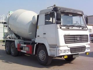 亚特重工TZ5250GJBLC4搅拌运输车