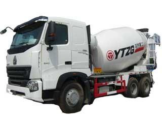 亚特重工TZ5257GJBZC4搅拌运输车