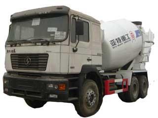亚特重工 TZ5255GJBSA6 搅拌运输车