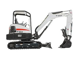 山猫E32挖掘机