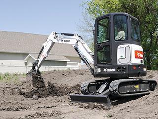 山猫E26挖掘机